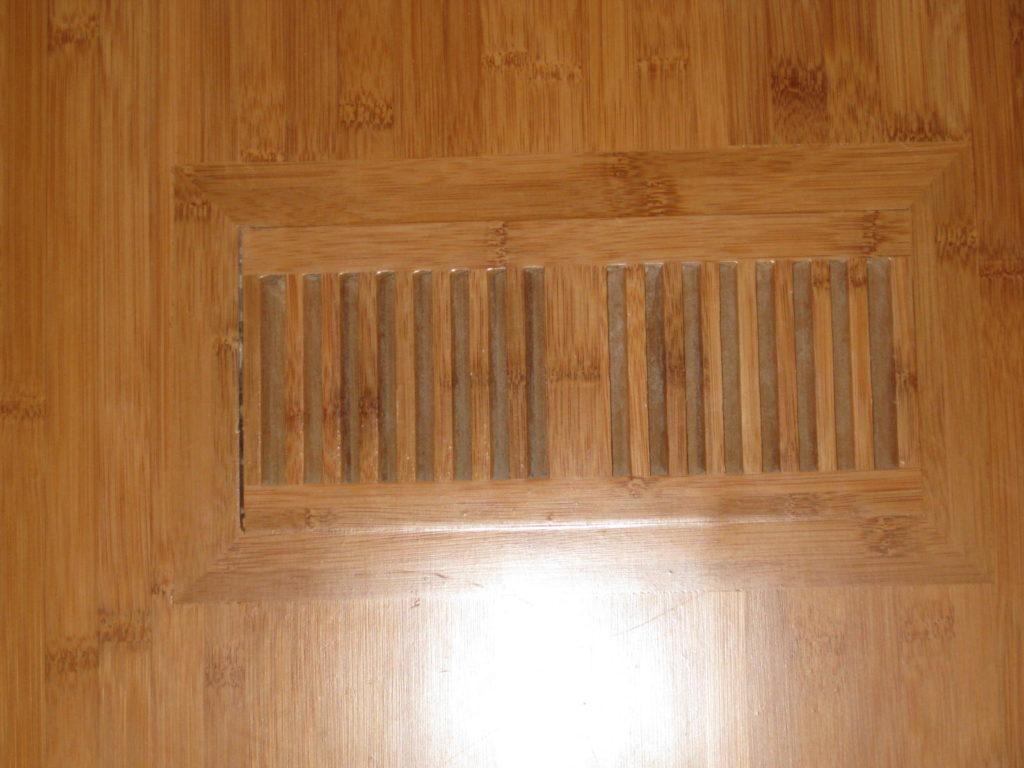 Flush mount floor vent installation Milwaukee